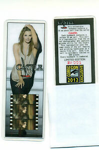 Castle-Stana-Katic-SDCC-Comic-Con-Exclusive-Collectible-Film-Cell-Bookmark