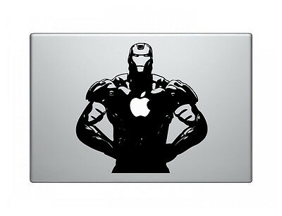 "Iron Man Vinyl Decal Sticker Skin for Apple MacBook Pro Air Mac 13"" inch"