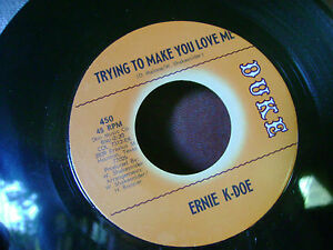 MINT-ORIG-NORTHERN-SOUL-45-ERNIE-K-DOE-TRYING-TO-MAKE-YOU-LOVE-ME-I-039-M-SORRY-HEAR