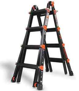 17 1a Little Giant Ladder Pro Series W Wheels New Ebay