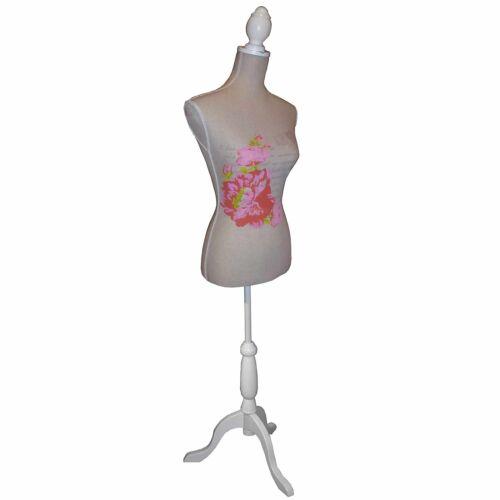 ROSE - Mannequin / Decorative Dressmakers Dummy - Brown / Pink HA4244