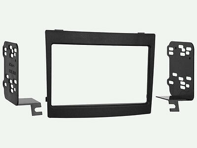 Double Din Stereo Radio Install Mounting Dash Trim Kit for select GM Vehicles