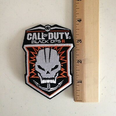 Brand New COD Call of Duty Black Ops II 2 Iron On Promo Patch Free Shipping