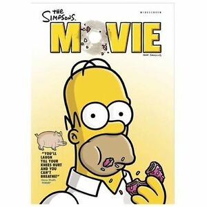 The Simpsons Movie Dvd Free Shipping 24543484271 Ebay