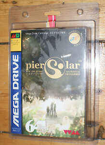 Pier-Solar-SEALED-premiere-edition-sega-megadrive-genesis-Comme-neuf-COMPLET-64-Mo
