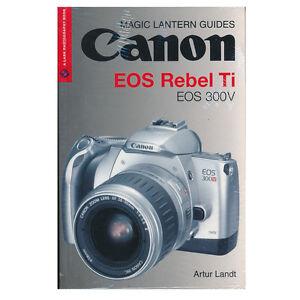 canon eos rebel ti  *original magic lantern guide* | ebay