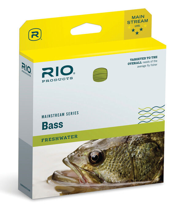 RIO MAINSTREAM BASIS NEUE WF-8-F weißht FORWARD FLOATING Fliegen LINE Gelb