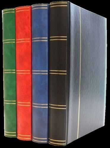 ALBUM NEUF  LEUCHTTURM : CLASSEUR A4 de 64 PAGES BLANCHES 5000 TIMBRES