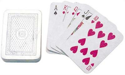 6 Miniature Playing Card Sets - Small Mini Loot/Party Bag Fillers Wedding/Kids