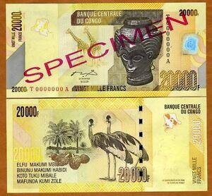 SPECIMEN-Congo-D-R-20000-20-000-Francs-2006-2012-P-New-UNC