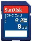 SanDisk -1 8GB SDHC Card - Retail - SDSDB-8192-A11