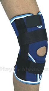 DELUXE-OPEN-KNEE-STABILIZING-BRACE-BAND-SUPPORT-XS-Left