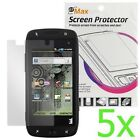 GTMax 5x Clear LCD Screen Protector for T-Mobile Samsung Sidekick 4G T839