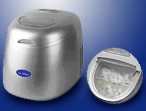 Details about NEW DELUXE COUNTERTOP PORTABLE ICE CUBE MAKER MACHINE
