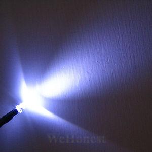 20-pcs-Pre-Wired-3mm-White-LEDs-Light-Lamp-12V-16V