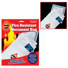Us Patrol 9 Inch By 14 Inch Fire Resistant Document Bag