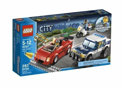 NEW LEGO City High Speed Chase 60007 FREE US SHIPPING LOOK