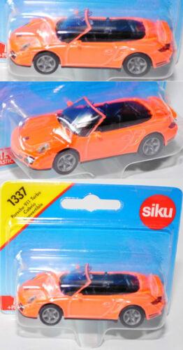 aprox 1:55 Siku Super 1337 Porsche 911 turbo cabrio