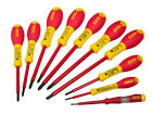 Stanley 562573 FatMax Screwdriver Set Insulated Par / Flared / Pozi (10 Pieces) (3253565625738)
