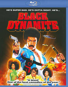 Black-Dynamite-Blu-ray-Disc-2010-Viewed-Once-MINT-CONDITION