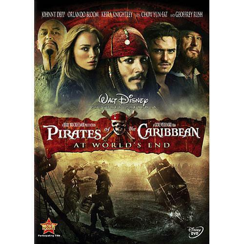 Disney Doppelgangers Pirates Edition: Pirates Of The Caribbean: At Worlds End (DVD, 2007)