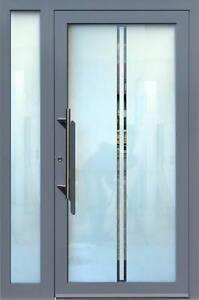 Haustür glas  Aluminium Haustür Glas Tür Alu Haustüren nach Maß Mod. HT 5472 GLA ...