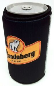 BUNDABERG-RUM-OFFICIAL-FOLD-FLAT-STUBBY-HOLDER-WITH-PHOTO-INSERT-NEW-12-99rrp