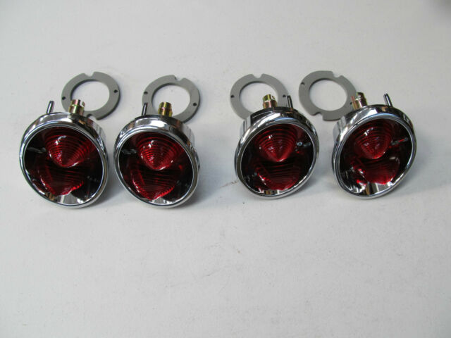 63-67 Corvette NEW REAR TAIL LAMPS SALE!!  USA-SET OF 4 COMPLETE lights lamp