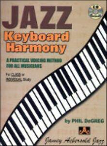 Detalles acerca de Teclado De Jazz Armonía: un método de voz práctico para  todos los músicos, Espiral-Boun- mostrar título original