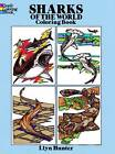 Sharks of the World Coloring Book by Llyn Hunter (Paperback, 1989)