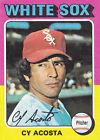 1975 Topps Cy Acosta Chicago White Sox #634 Baseball Card