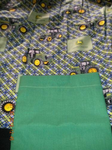 John Deere Crib//Toddler Sheet set ~ John Deere sheet ~ Bedding ~ Handmade ~ NWOT