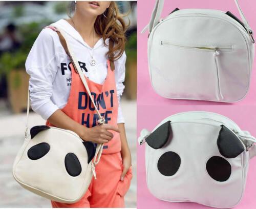 New Fashion Women Lady Girls Cute Lovely Panda Handbag Shoulder Bag CITI AU