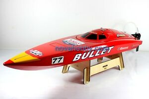 RC-RTR-2-4G-2CH-Brushless-Bullet-Deep-Vee-Racing-Boat