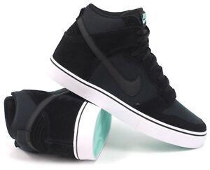 Nike-6-0-Dunk-High-LR-Black-amp-Tropical-Twist-Teal-Men-039-s-Skate-Shoes-New