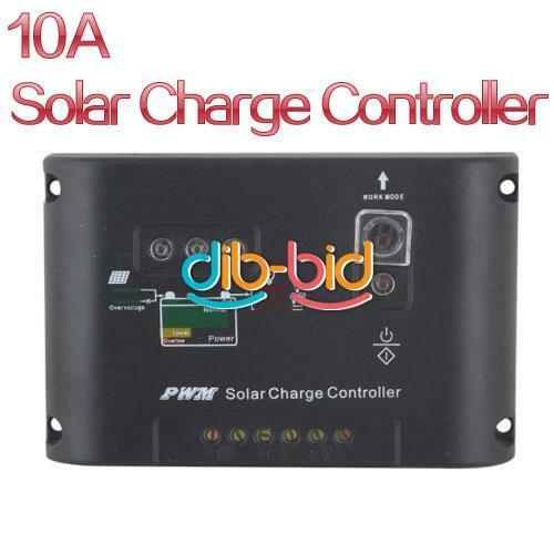 10A 12/24 Auto Switch PWM Solar Street Light Panel Charge Controller New SSUS