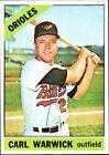 1966 Topps Carl Warwick Baltimore Orioles #247 Baseball Card