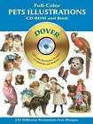 Full-Colour Pets by Dover (CD-ROM, 2003)