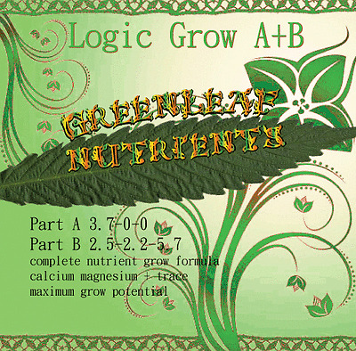 Logic Grow Hydroponic Nutrients advanced sensi