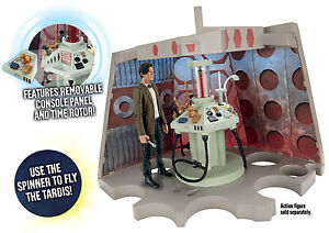 DOCTOR-WHO-Scrapyard-Junk-Tardis-Console-Action-Figure-Playset-NEW