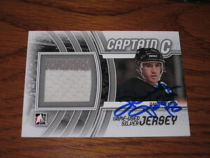 DAVE-TAYLOR-AUTOGRAPHED-ITG-GAME-USED-JERSEY-CARD-CAPTAIN-C-2-COLOR-JERSEY