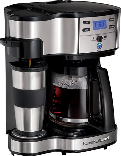NEW Hamilton Beach 49980Z 2-Way Brewer Single Serve and 12-cup Coffee Maker