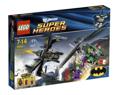 LEGO DC Comics Super Heroes Batwing Battle Over Gotham City (6863) BNIB