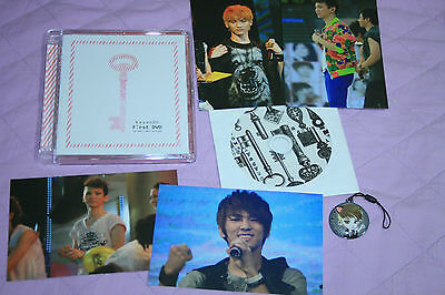 shinee KEY KEY AND YOU  DVD STRAP CD PHOTO SET GIBUM KIMKEY
