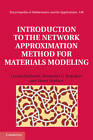 Introduction to the Network Approximation Method for Materials Modeling by Alexei Novikov, Alexander G. Kolpakov, Leonid Berlyand (Hardback, 2012)