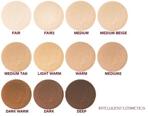 Mineral Foundation Makeup Refill Bag Bare Pure Natural