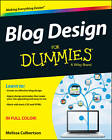 Blog Design For Dummies by Melissa Culbertson (Paperback, 2013)