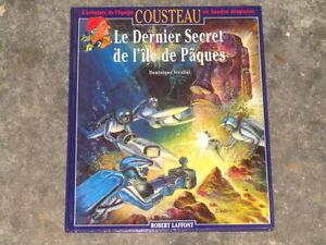 bd-COUSTEAU-n-14-Le-dernier-secret-de-l-039-ile-de-Paques-EO-BE-Rare