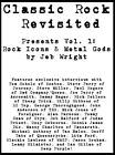 Classic Rock Revisited Presents: v. 1: Rock Icons & Metal Gods by Jeb Wright (Paperback, 2012)