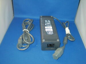 microsoft xbox 360 175w power supply brick w power cord ebay. Black Bedroom Furniture Sets. Home Design Ideas